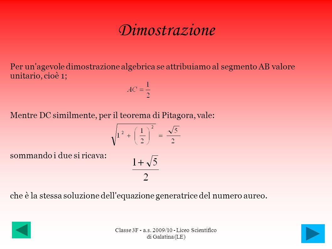 Classe 3F - a.s. 2009/10 - Liceo Scientifico di Galatina (LE)