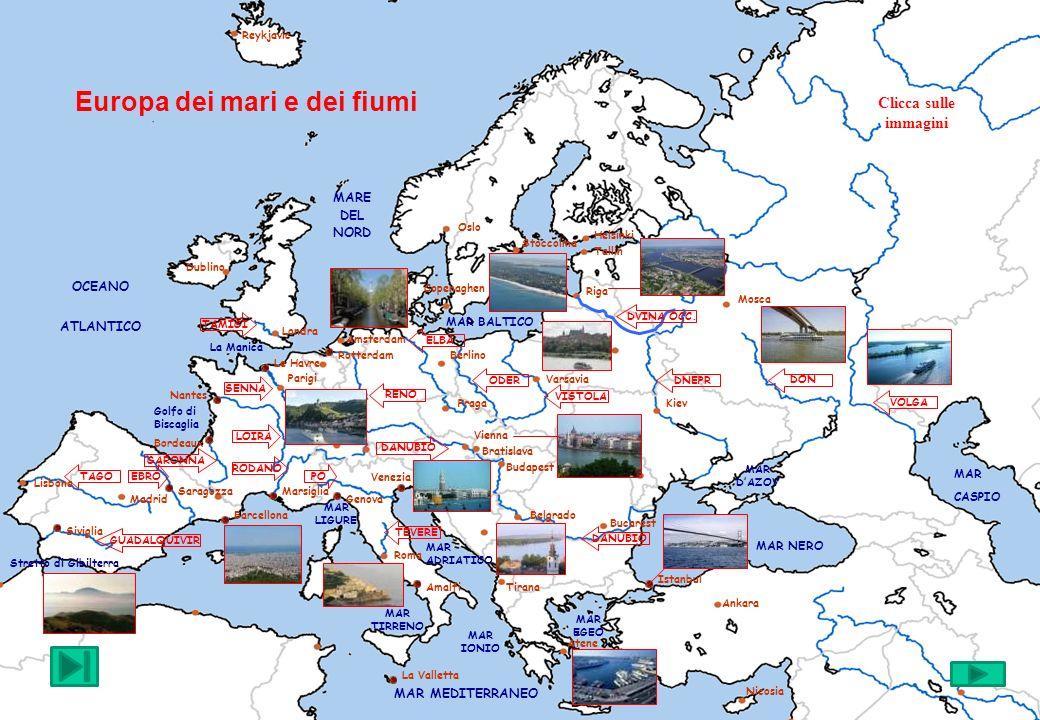 Europa dei mari e dei fiumi
