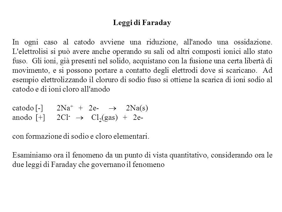 Leggi di Faraday