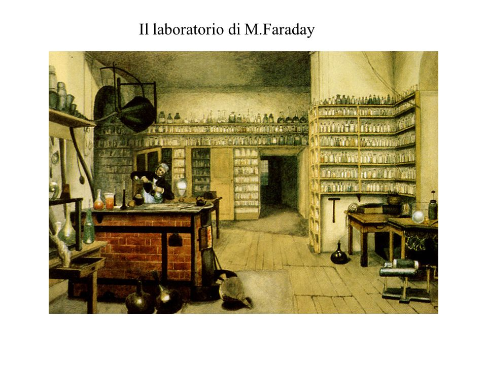 Il laboratorio di M.Faraday