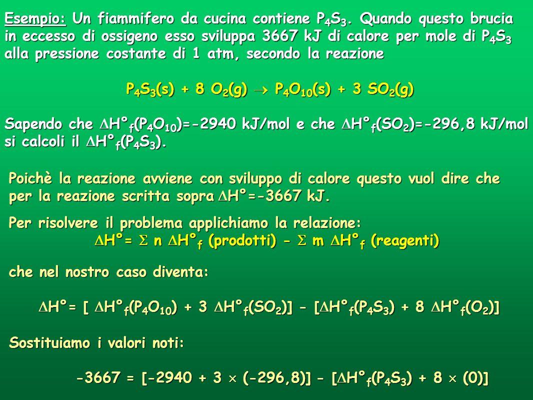 P4S3(s) + 8 O2(g)  P4O10(s) + 3 SO2(g)