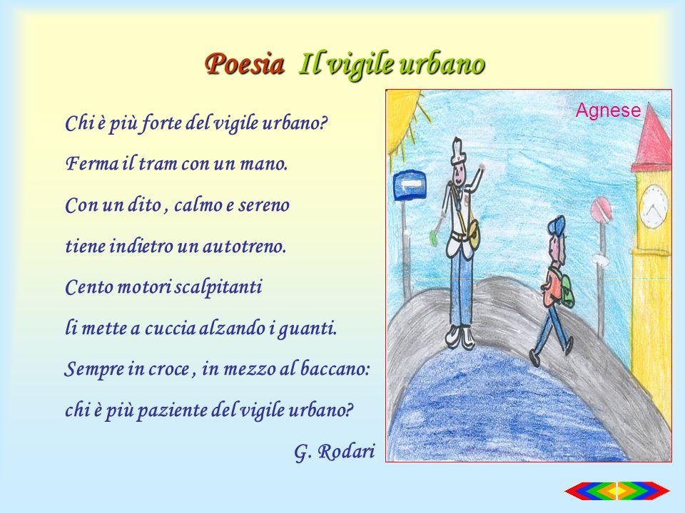Poesia Il vigile urbano
