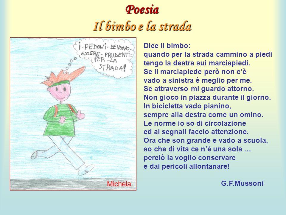Poesia Il bimbo e la strada