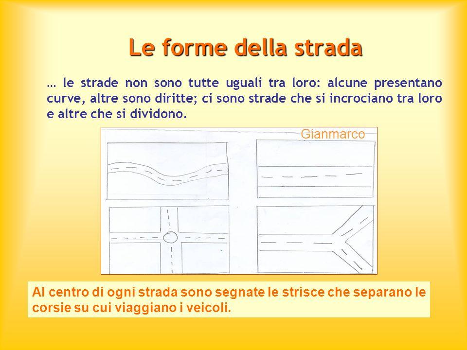 Le forme della strada