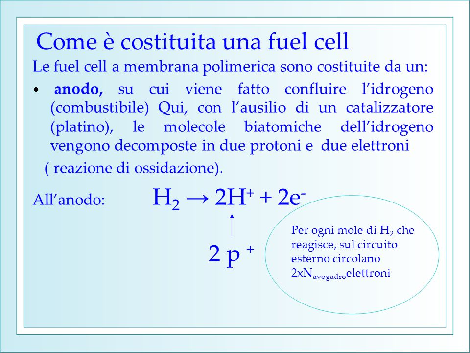 Come è costituita una fuel cell