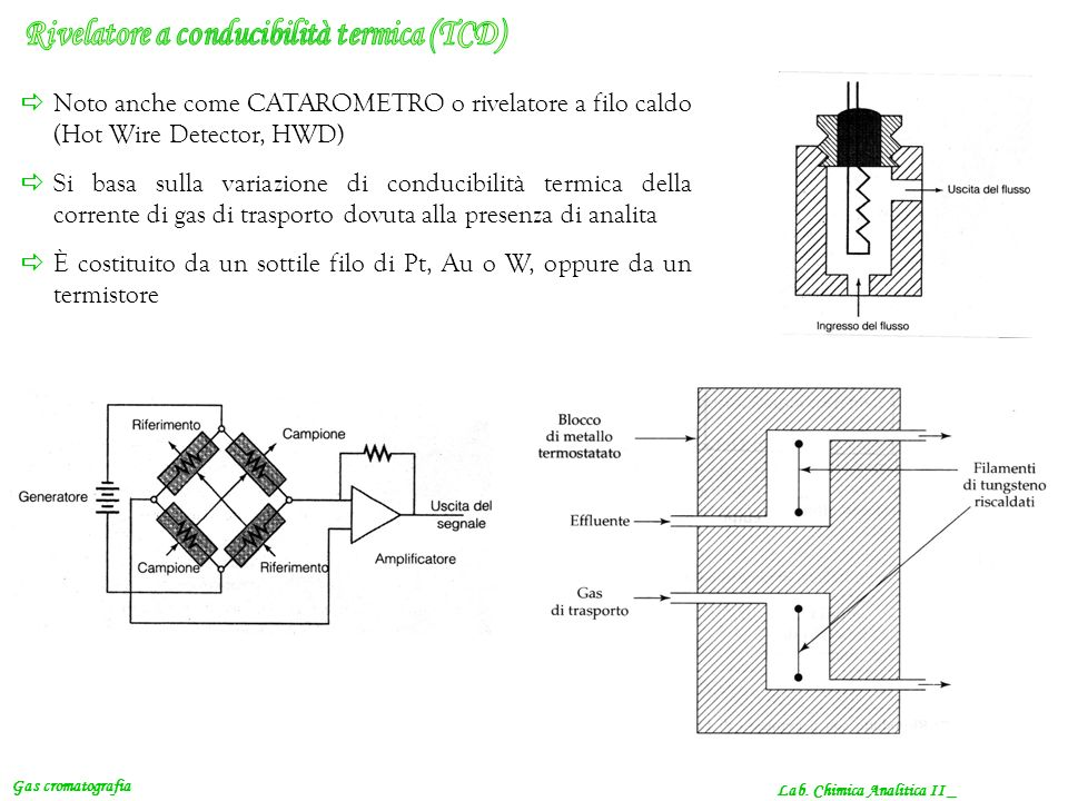 Rivelatore a conducibilità termica (TCD)