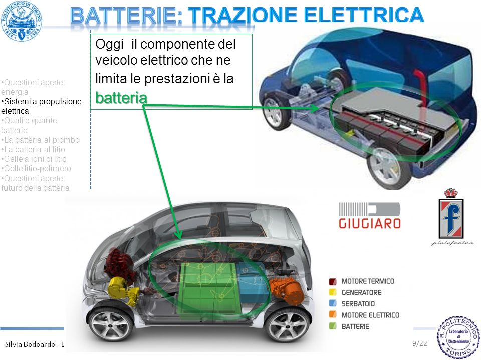 Batterie: TRAZIONE ELETTRICA