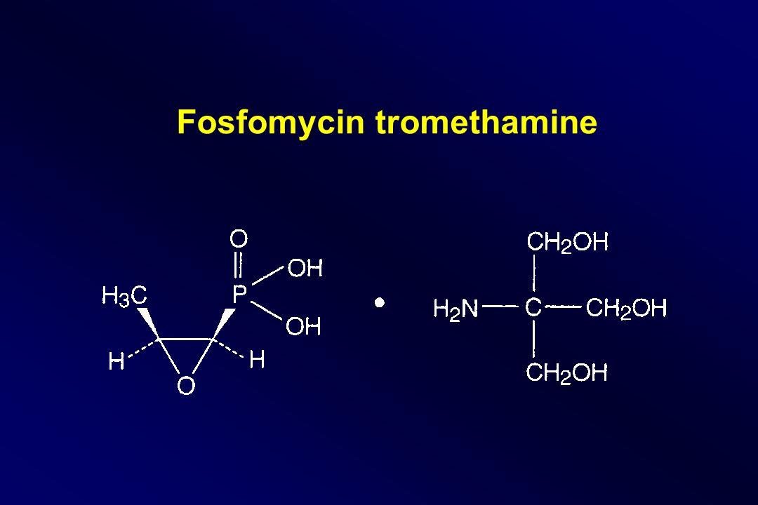 Fosfomycin tromethamine