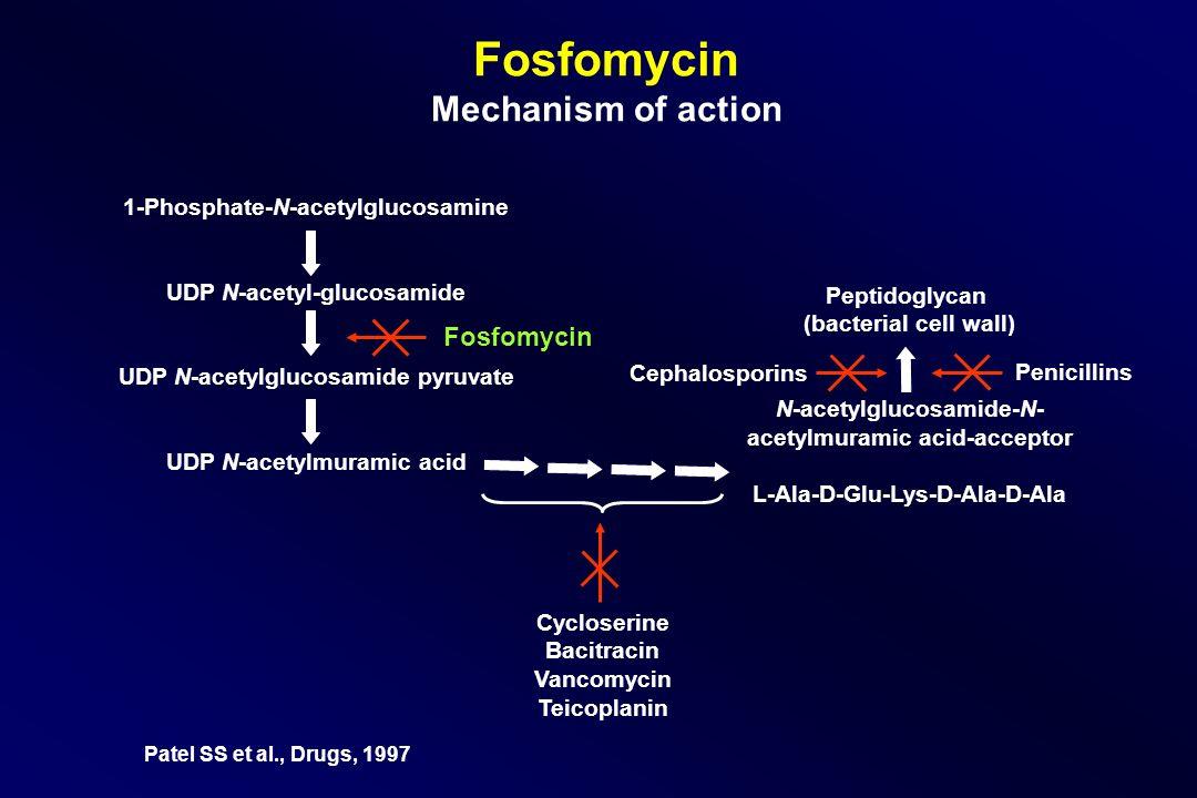Fosfomycin Mechanism of action