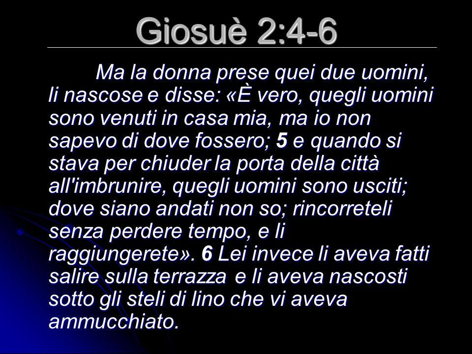 Giosuè 2:4-6