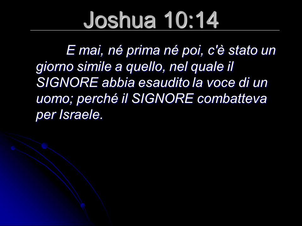 Joshua 10:14