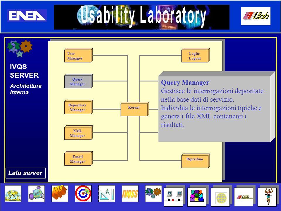 VQS IVQSS IVQS SERVER Query Manager