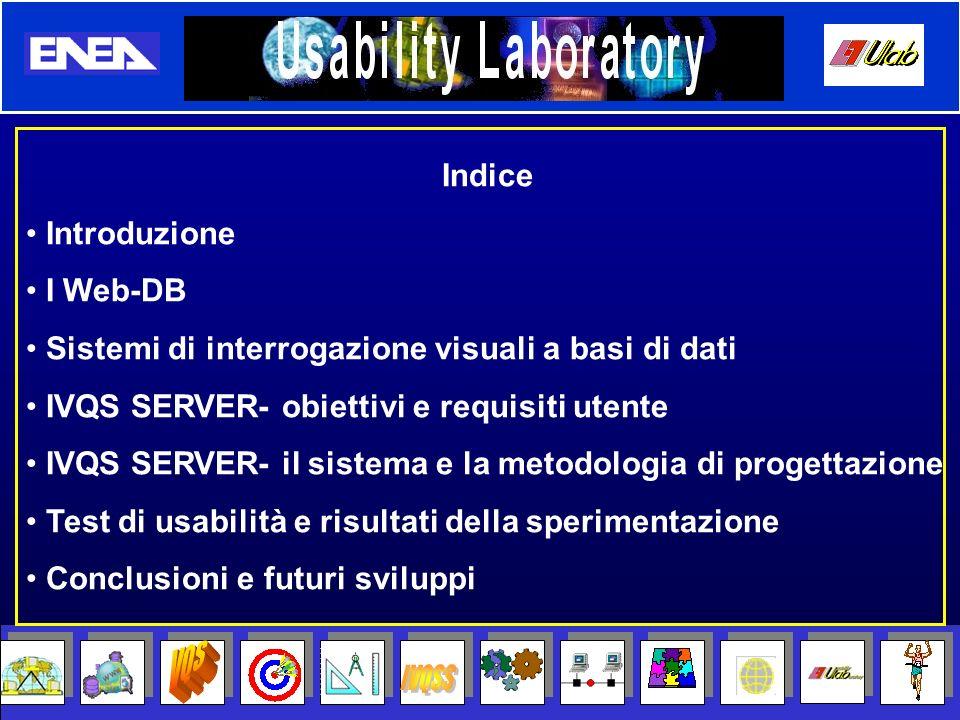VQS IVQSS Indice Introduzione I Web-DB