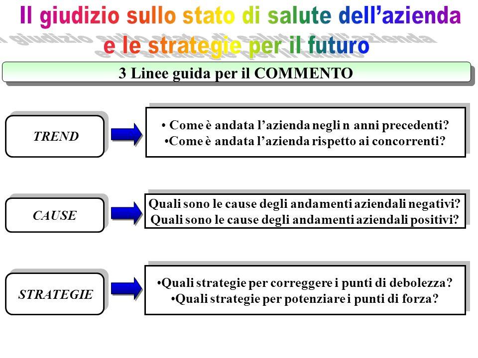 3 Linee guida per il COMMENTO