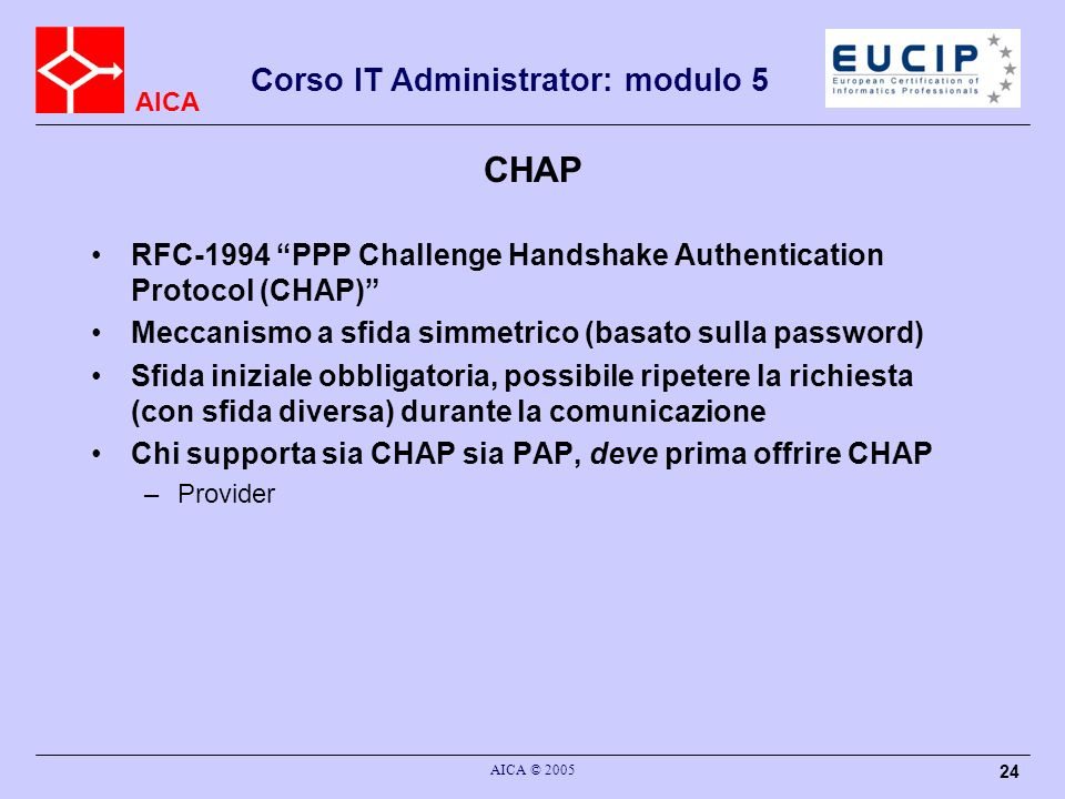 CHAP RFC-1994 PPP Challenge Handshake Authentication Protocol (CHAP)