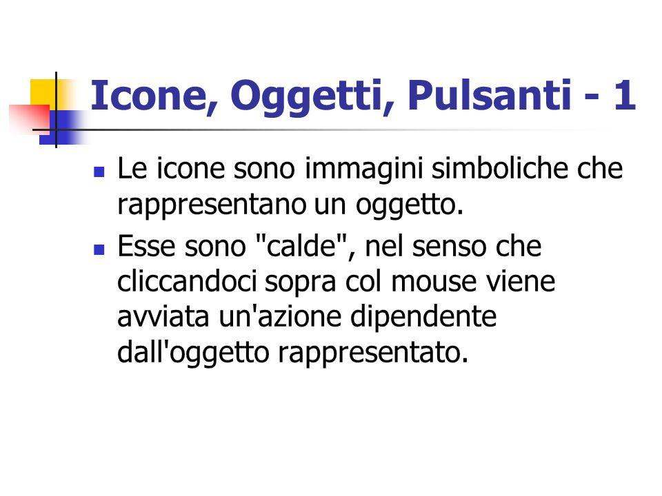 Icone, Oggetti, Pulsanti - 1