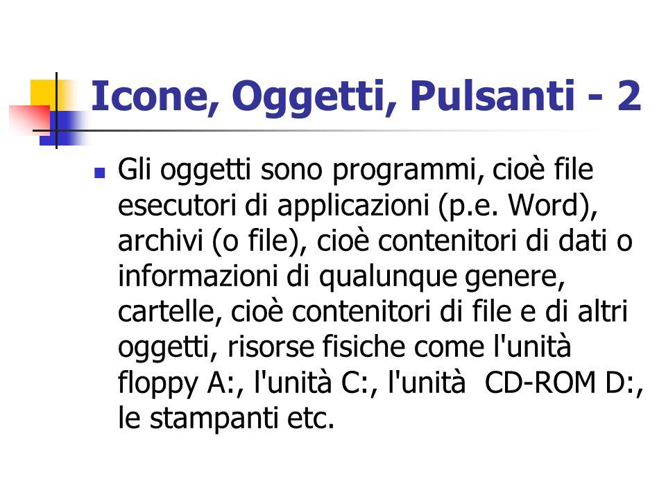 Icone, Oggetti, Pulsanti - 2