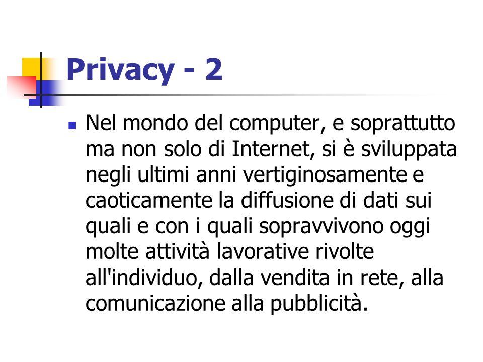 Privacy - 2