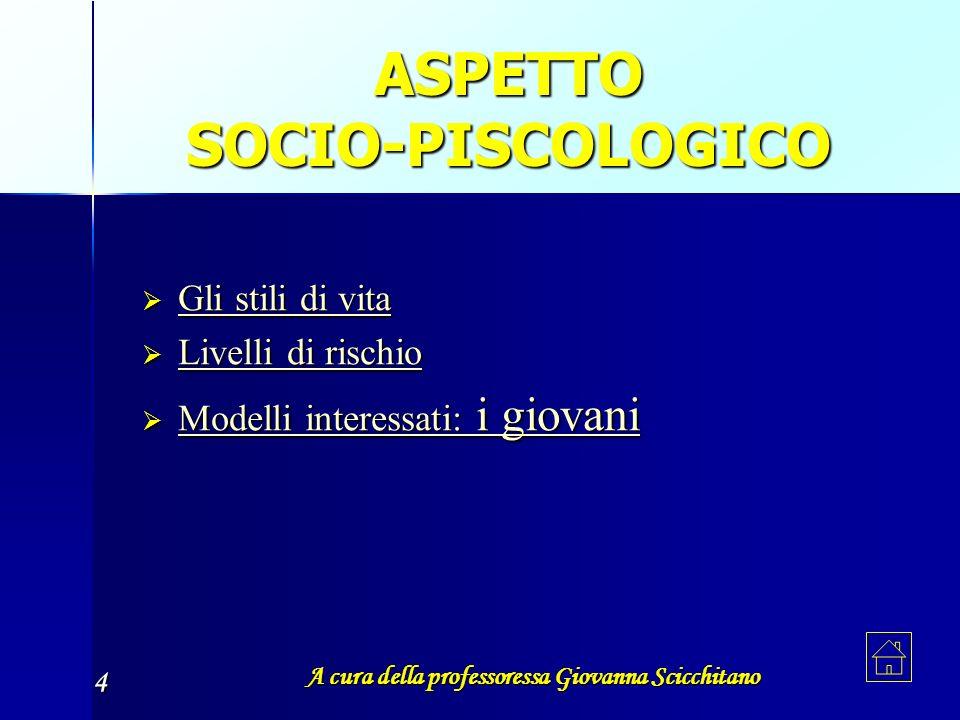 ASPETTO SOCIO-PISCOLOGICO