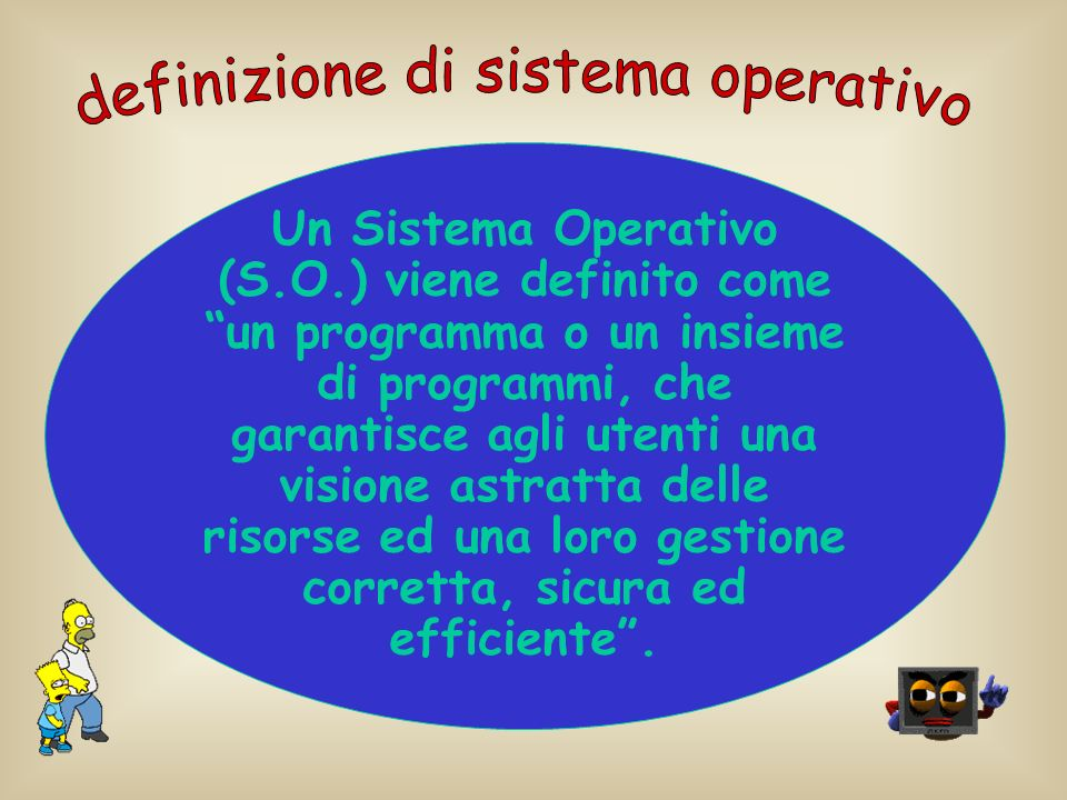 definizione di sistema operativo