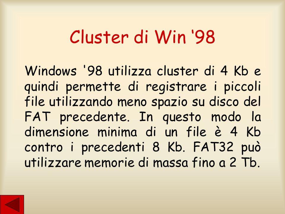 Cluster di Win '98