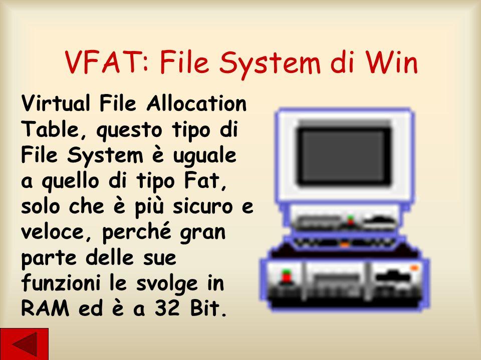 VFAT: File System di Win