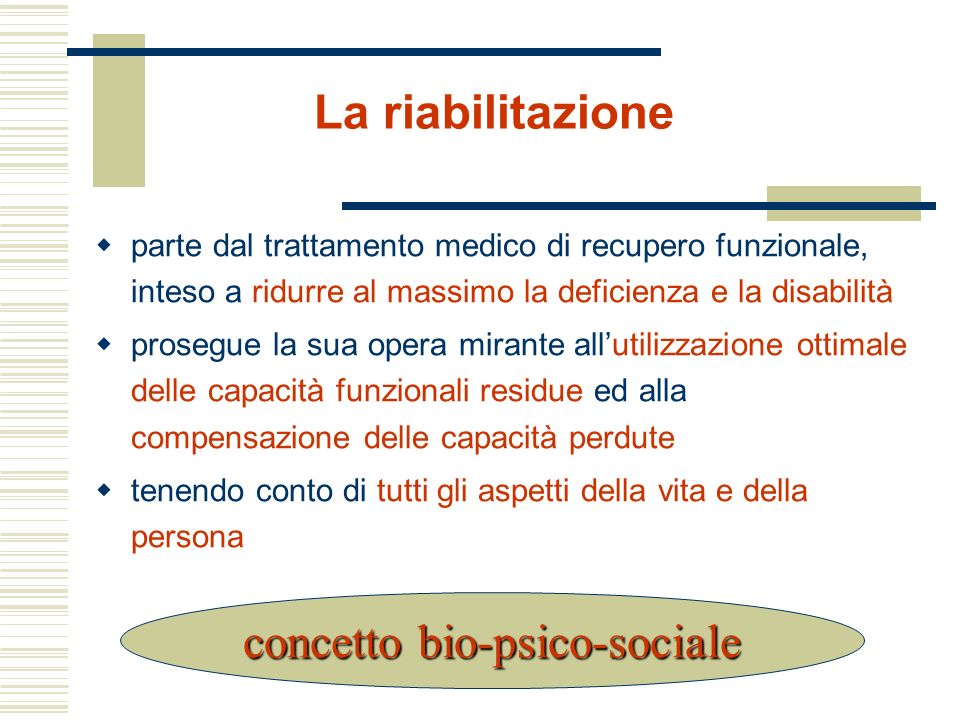 concetto bio-psico-sociale