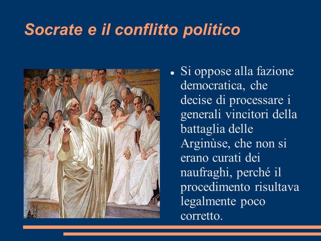 Socrate e il conflitto politico