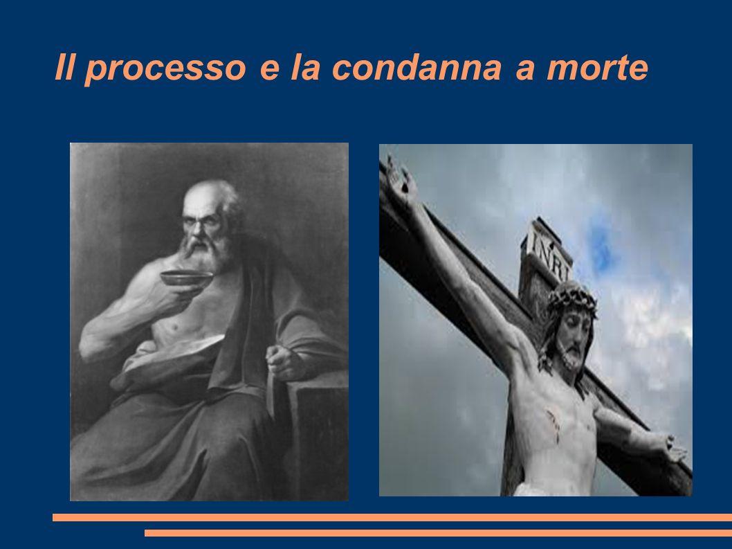 Il processo e la condanna a morte