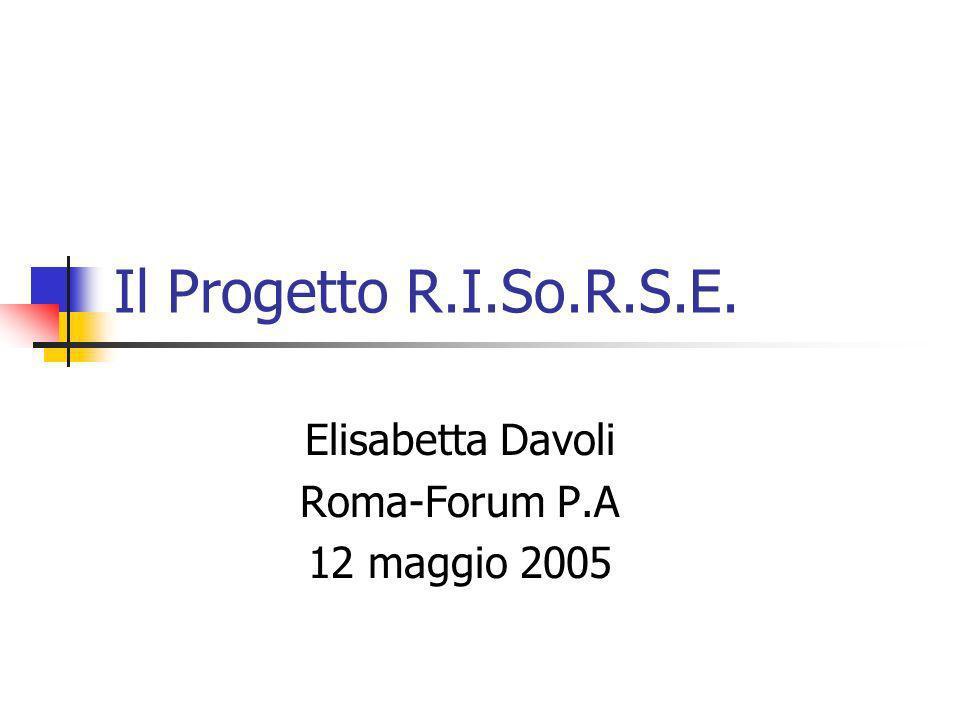 Elisabetta Davoli Roma-Forum P.A 12 maggio 2005