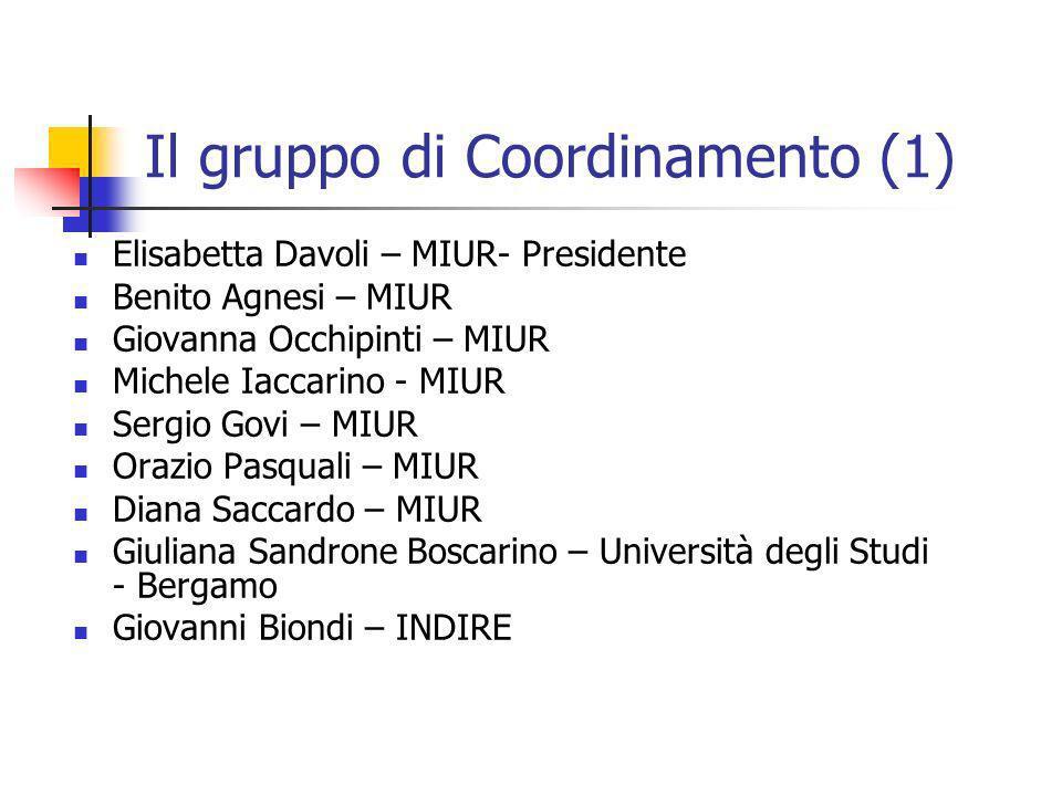 Il gruppo di Coordinamento (1)