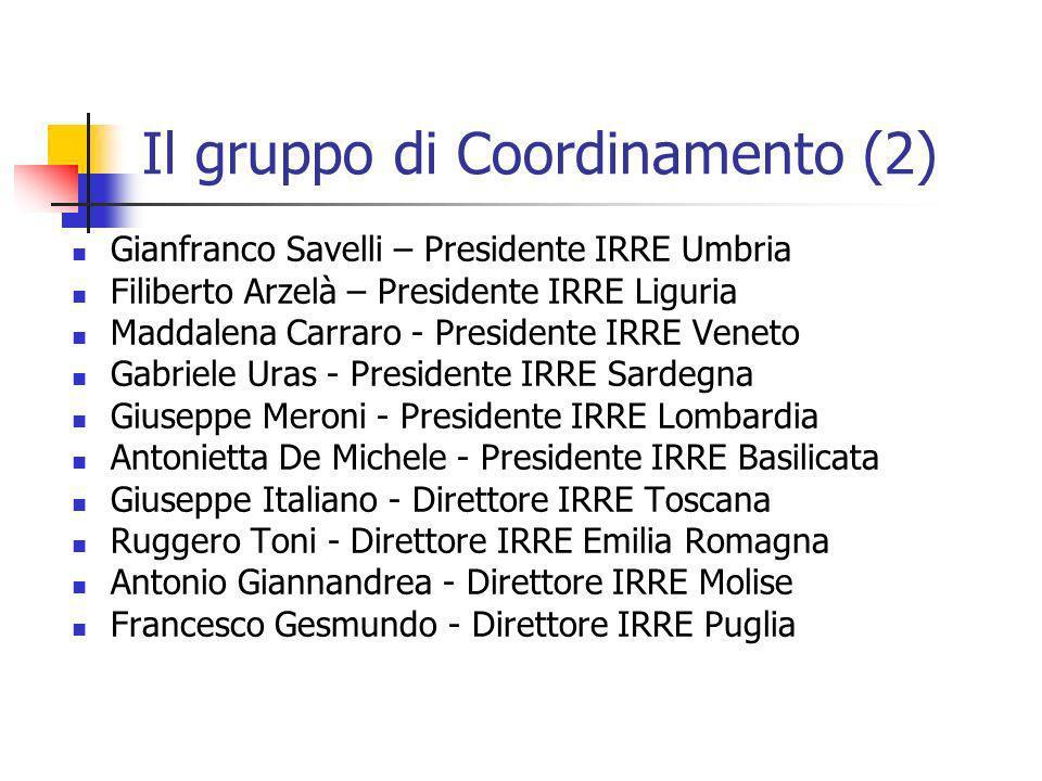 Il gruppo di Coordinamento (2)
