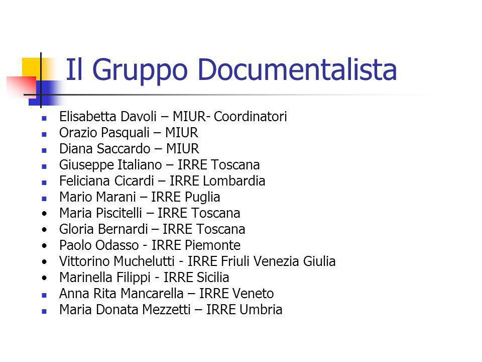 Il Gruppo Documentalista
