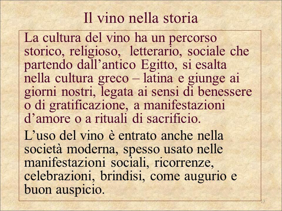 Il vino nella storia