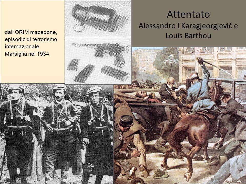 Attentato Alessandro I Karagjeorgjević e Louis Barthou