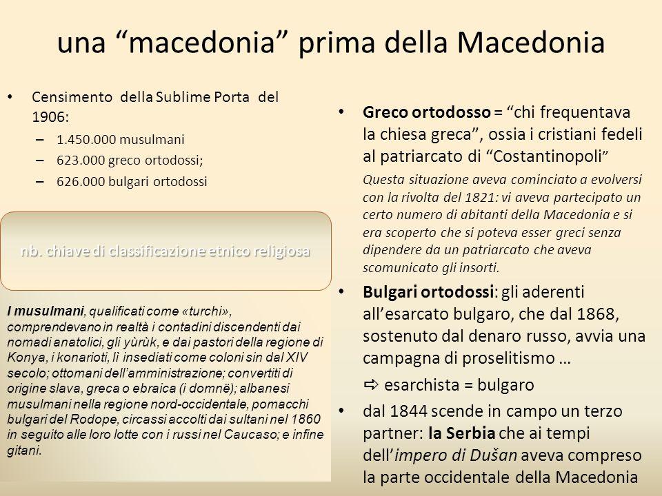 una macedonia prima della Macedonia