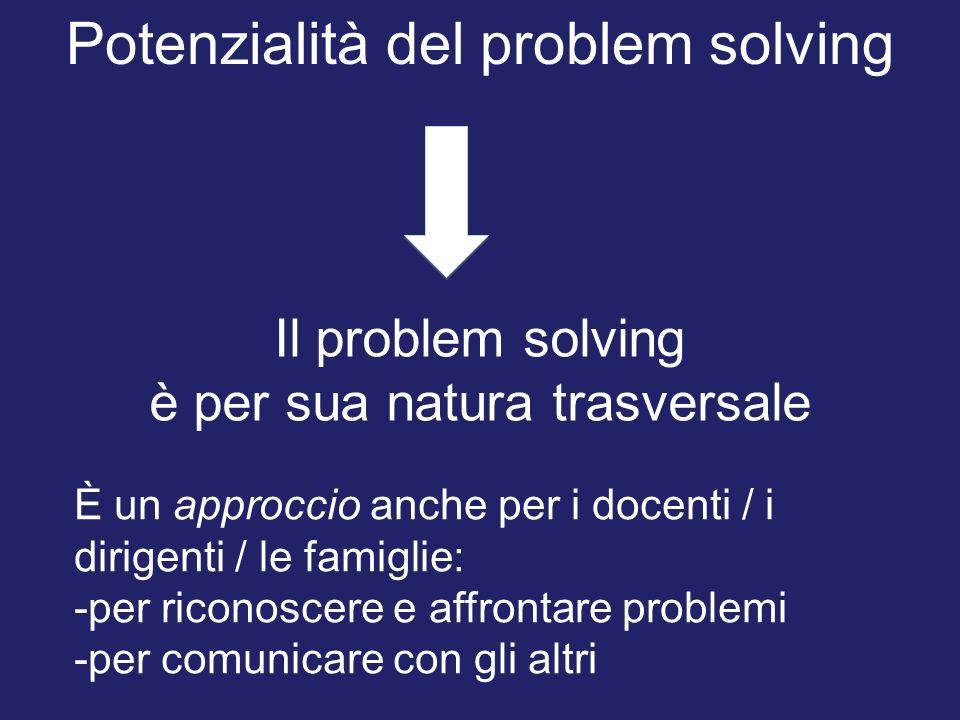 Potenzialità del problem solving