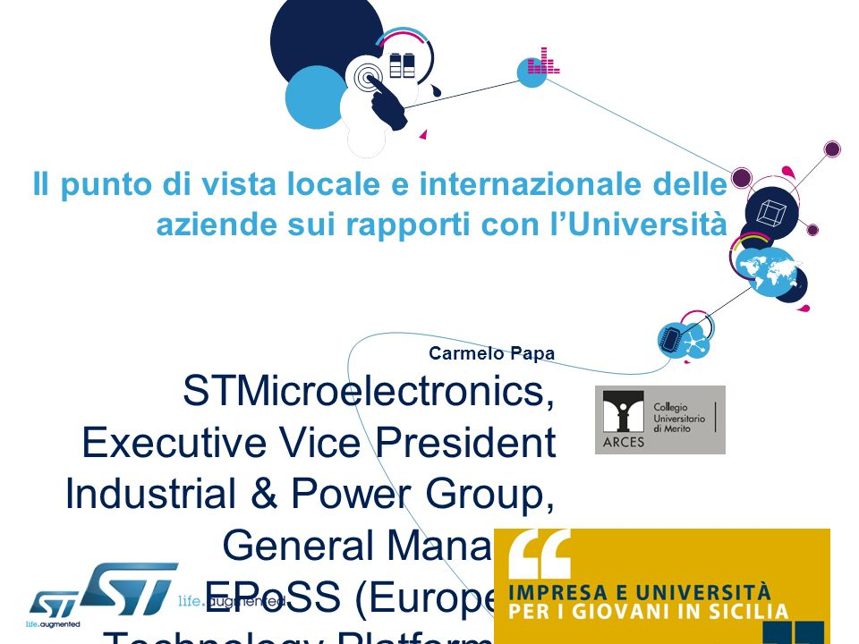 STMicroelectronics, Executive Vice President