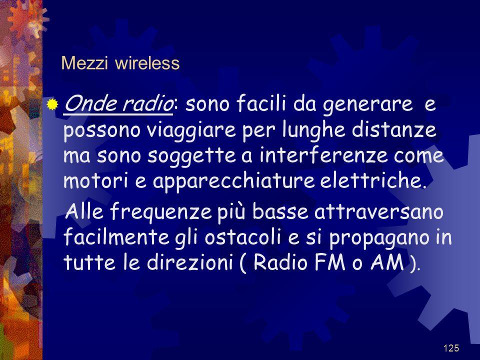 Mezzi wireless