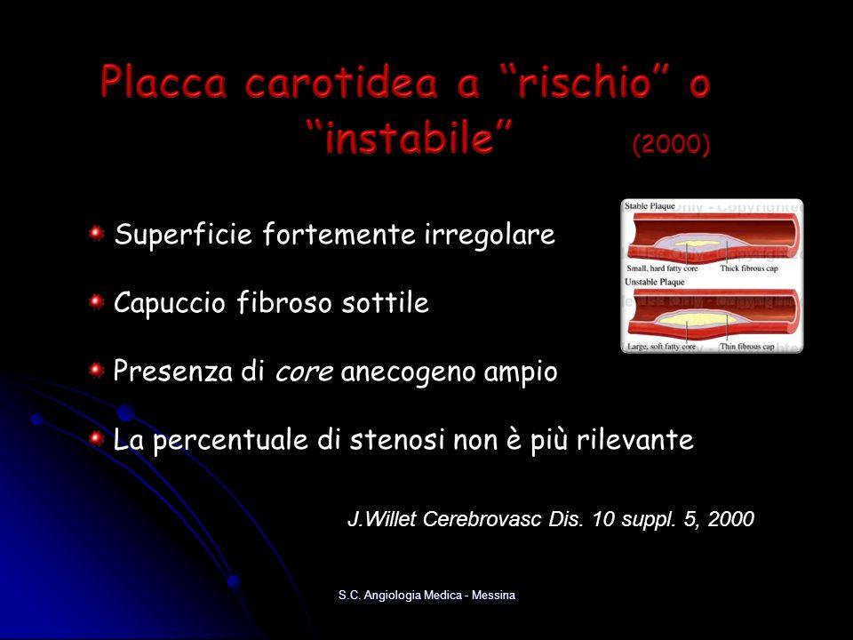 Placca carotidea a rischio o instabile (2000)