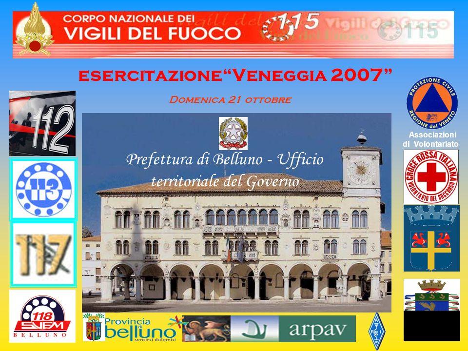 esercitazione Veneggia 2007