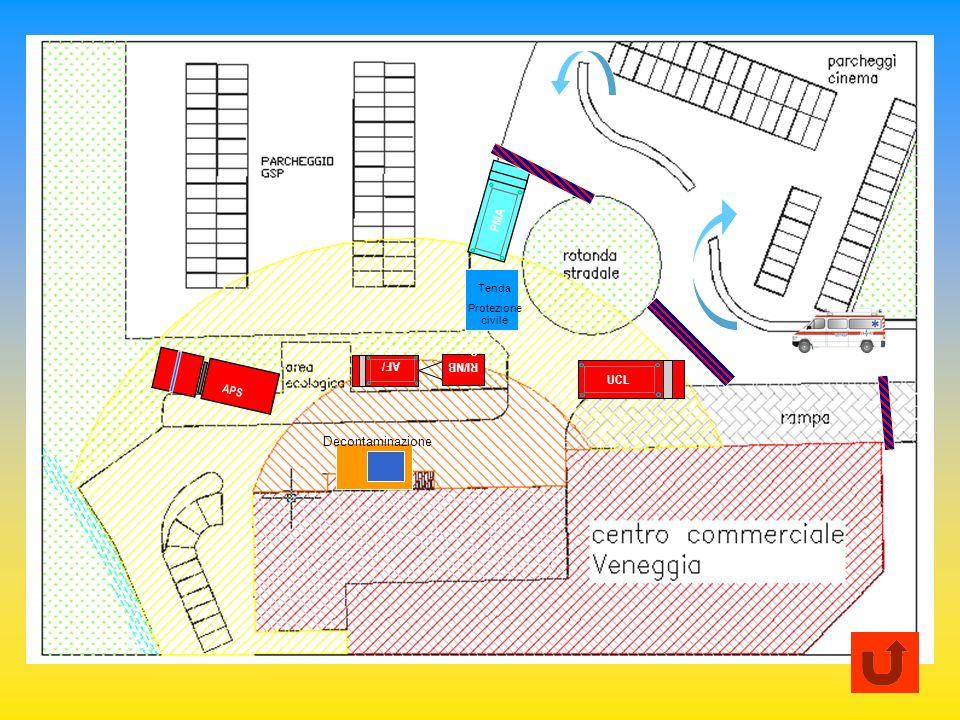PMA Tenda Protezione civile AF/UCL RI/NBC APS UCL Decontaminazione