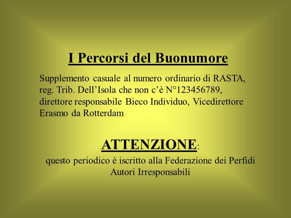 I Percorsi del Buonumore