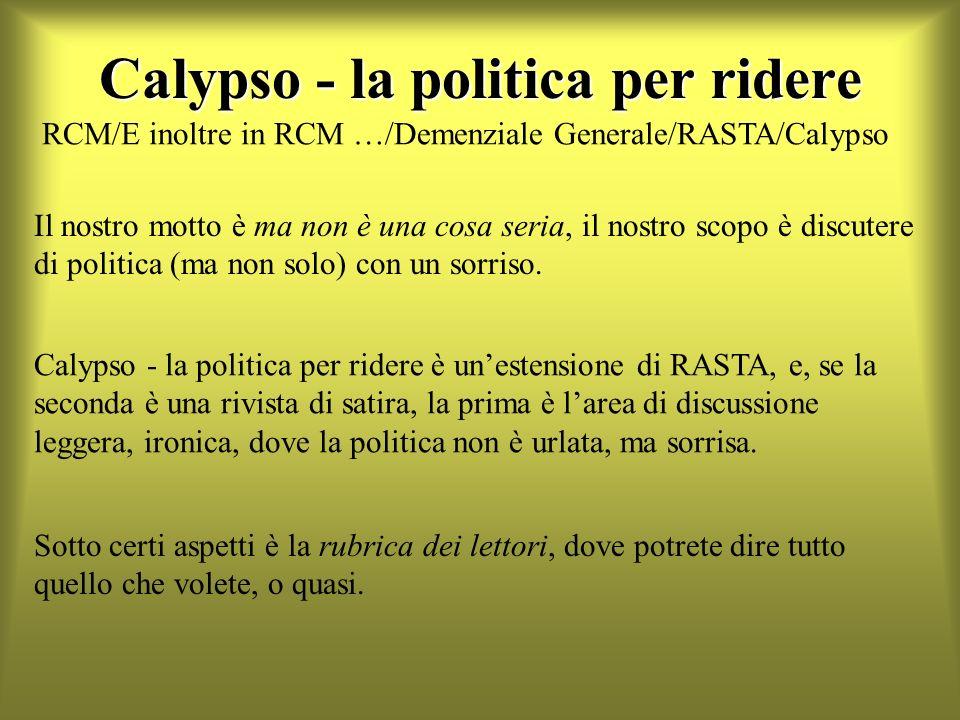 Calypso - la politica per ridere