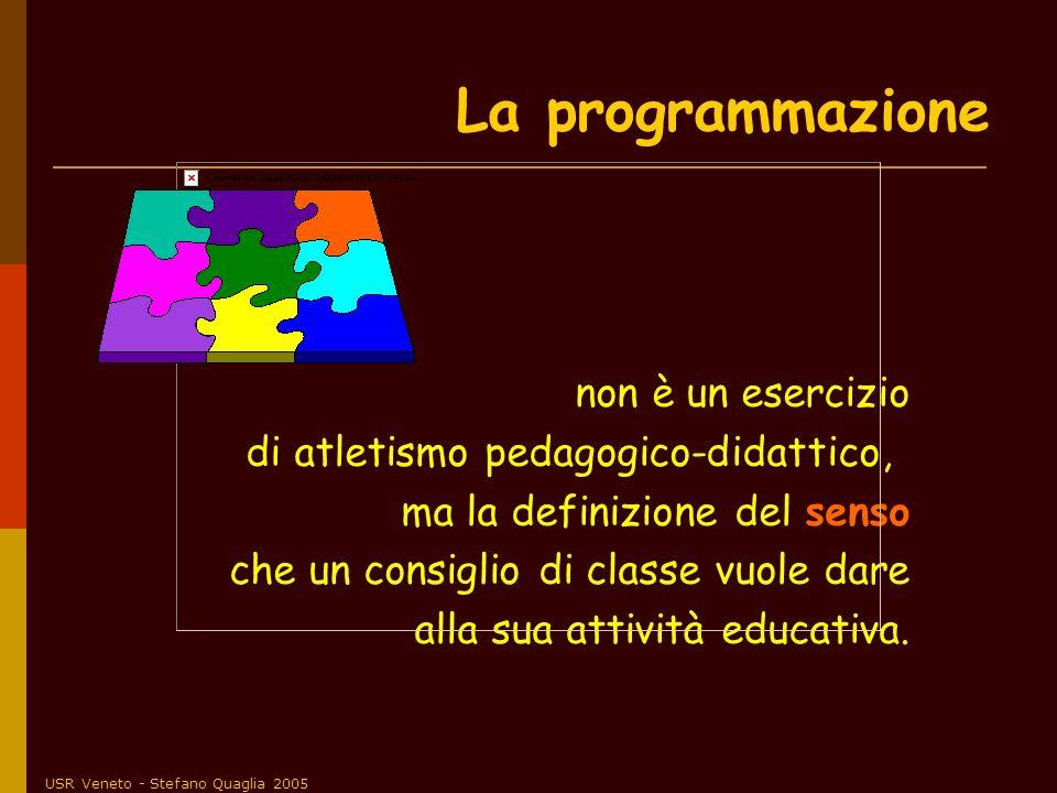 La programmazione non è un esercizio