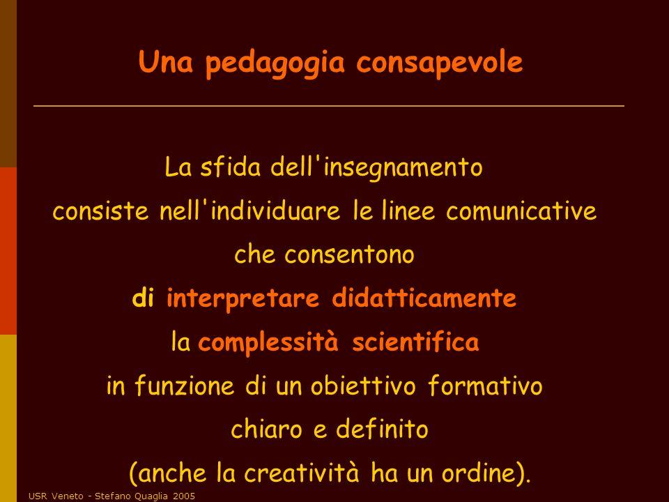 Una pedagogia consapevole