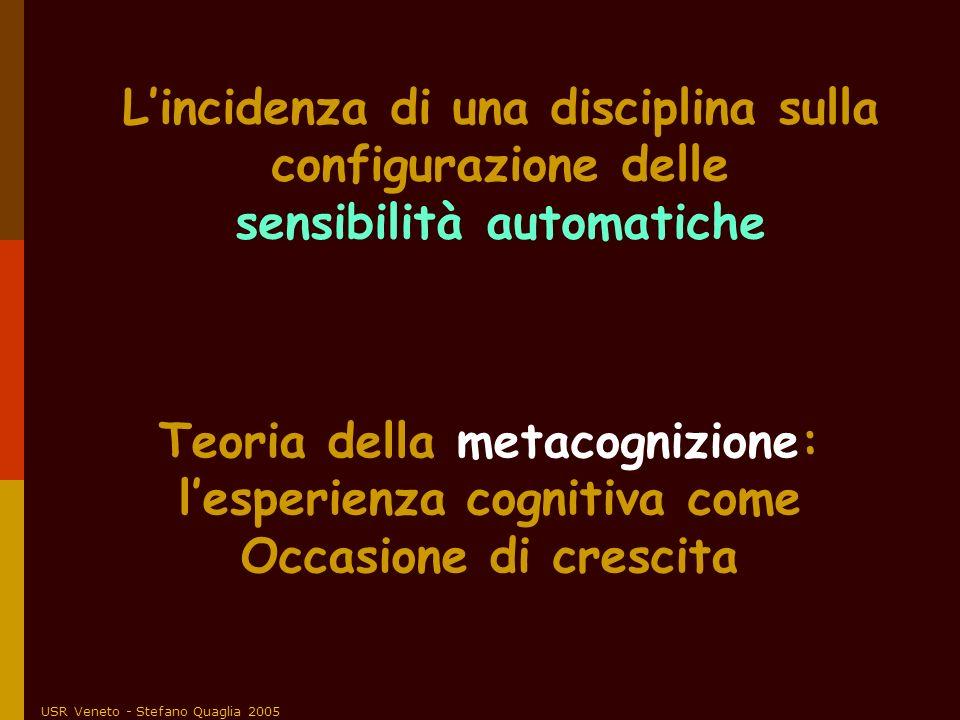 L'incidenza di una disciplina sulla configurazione delle