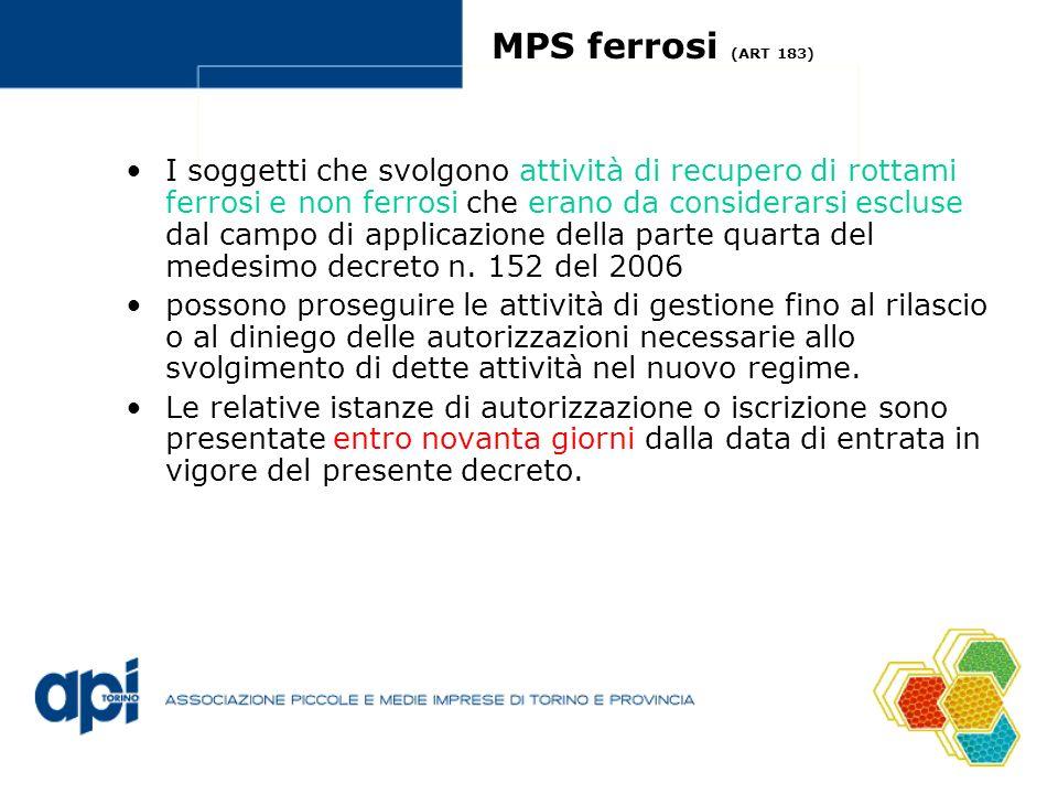 MPS ferrosi (ART 183)