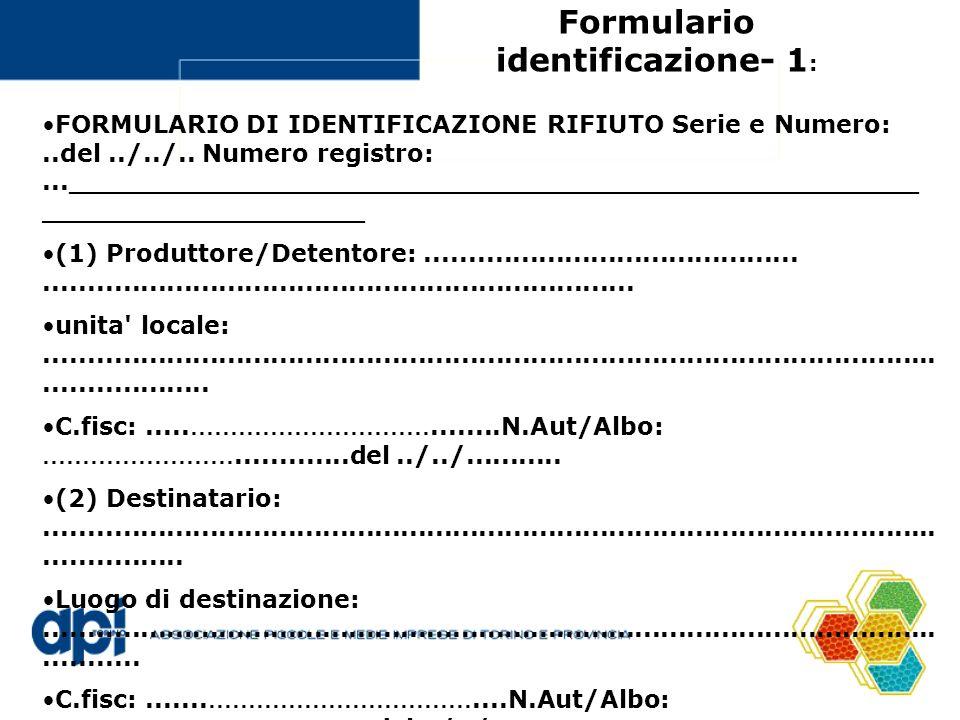 Formulario identificazione- 1: