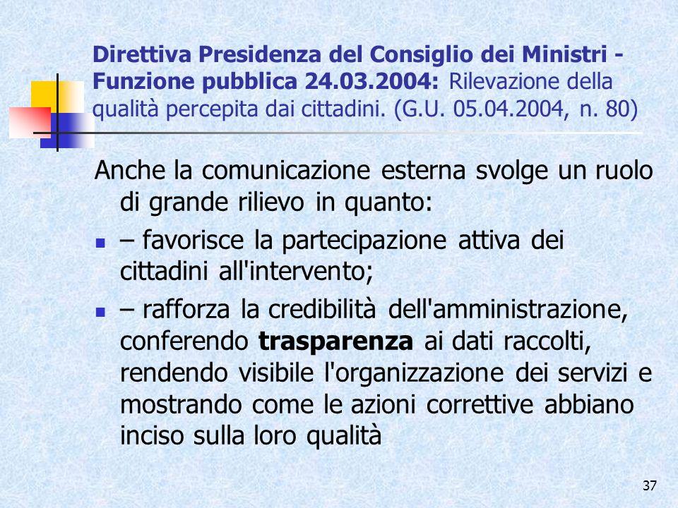 – favorisce la partecipazione attiva dei cittadini all intervento;
